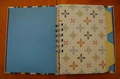 Bind-It-All File Folder Mini Book