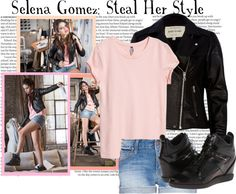 """""""Selena Gomez: Steal Her Style Contest"""" by gemma-t-998 on Polyvore"""