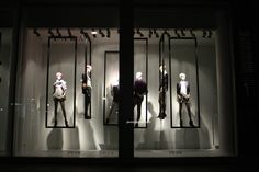 Zara windows at Bond street 2013 London