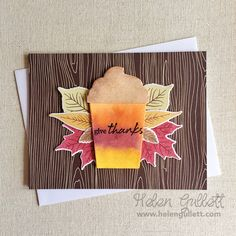Fall Coffee Lovers Blog Hop is officially live now! Come over and be inspired! I used Hero Arts Coffee Cup Tags and Grateful Leaves stamps and frame cut die sets from a2z Scrapbooking Store. More details on my blog  http://helengullett.com/?p=10040 (or link on profile) Thanks a latte for stopping by ☕️ . . . #creatingjoyfully #fall2016clh