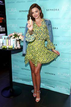 Miranda Kerr Photos Photos - Miranda Kerr celebrates the U.S. arrival of her KORA Organics brand at Sephora Times Square on September 15, 2017 in New York City. - Miranda Kerr Celebrates U.S. Arrival Of Her KORA Organics Brand At Sephora Times Square