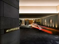 The Upperhouse Hotel entrance - Admiralty