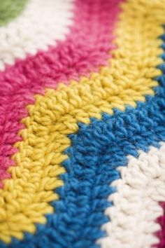10 Colorful Crochet Patterns You Have to Try