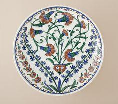Dish | LACMA Collections Iznik 1551-65