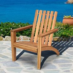 Wood Adirondack Chairs, Patio Chairs, Comfortable Outdoor Chairs, Outdoor Seating, Outdoor Decor, Outdoor Living, Outdoor Armchair, Cozy Chair, Acacia Wood