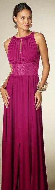 099a07812 Moldes Moda por Medida  TRANSFORMAÇÃO DE VESTIDOS  34 Vestidos Largos Para  Gorditas