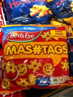 Awesome social media frozen potato shapes from Birds Eye