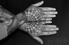 Dotwork Geometric Tattoo by Dillon Forte