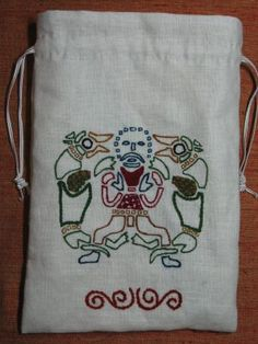 Viking or Mammen style embroidery