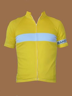 Canary Yellow Cycling Jersey, sophisticated clean and cool!