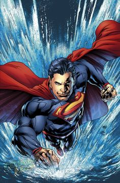 Superman Unchained #8 variant cover by Ivan Reis