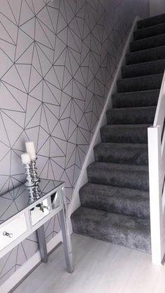 64 ideas silver wallpaper living room grey decorating ideas for 2019 Design Room, Home Design, Design Ideas, Interior Design, Room Interior, Metallic Wallpaper, Trendy Wallpaper, Home Wallpaper, Bedroom Wallpaper