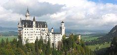 Schloss Neuschwanstein, Füssen - GPS 47.557567, 10.749795 http://www.neuschwanstein.de/
