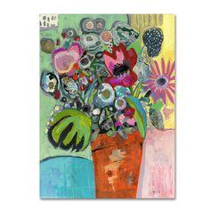 Wyanne 'French Flowers' Canvas Art