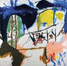 Acres. 1959. Oil on canvas - Helen Frankenthaler - WikiArt.org