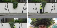 What Happens When Pieces Of Street Art Cleverly Interact With Nature