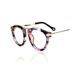 Retro Floral Pattern Sunglasses on Luulla