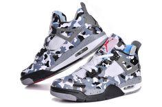€78.96  Air Jordan 4 Camo Wit