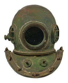 Deep Sea Salvage Diver's Helmet