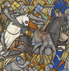 discarding images — fatality 'Maciejowski Bible', Paris ca. Medieval Knight, Medieval Art, Medieval Fantasy, Medieval Manuscript, Illuminated Manuscript, Larp, Los Primates, Maleficarum, Medieval Paintings