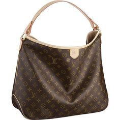 The Louis Vuitton Delightful Monogram MM embodies everyday elegance. In supple yet resistant Monogram canvas, its lightweight feel, generous interior and luxuriously soft embossed handle make it chic yet practical. Louis Vuitton Taschen, Louis Vuitton Monograme, Louis Vuitton Handbags, Vuitton Bag, Lv Handbags, Louis Vuitton Delightful Mm, Sacs Louis Vuiton, Accessoires Divers, Future Fashion