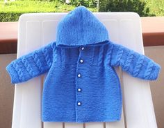 Hooded Baby Coat free knitting pattern on Ravelry at http://www.ravelry.com/patterns/library/hooded-baby-coat
