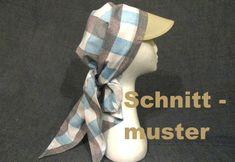 Damen Sommerhut, Sonnenhut, Bandana Tuch, Chemo Kopftuch E-BOOK, SCHNITTMUSTER in Bastel- & Künstlerbedarf, Nähen, Schnittmuster | eBay!