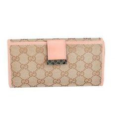 b2dcfa2bbc23a Gucci Continental Wallet with Engraved Logo Detail Pink Sale Gucci Online