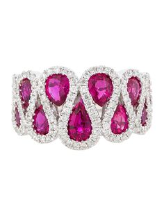 3.35ctw Ruby and Diamond Ring - Fine Jewelry - FJR21139 | The RealReal
