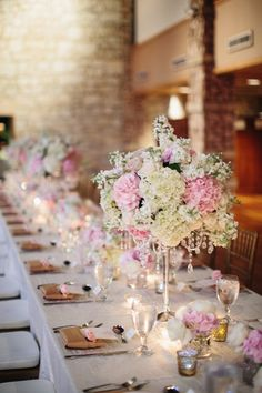 Gorgeous centerpieces for wedding in Maui from Sweet Pea Events with photos by Sarah & Rocky Photography | via junebugweddings.com