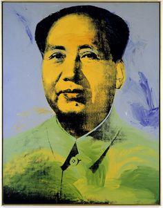 Andy Warhol -Mao, 1973.Acrylic and silkscreen on canvas