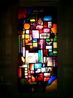 Title:走馬灯(Revolving lantern) #stainedglass #art