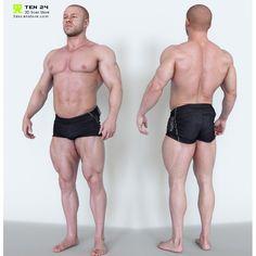 Bodybuilder Bundle + Render Scene