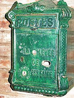 Fourmies museum , belle époque -letter-box by april-mo, via Flickr