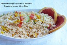Cous cous agli agrumi e verdure - ricetta fredda