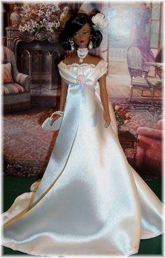 OOAK Doll Bride Fashion by Karen glammourdoll