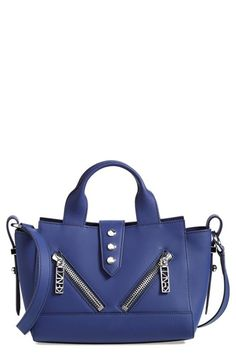 KENZO 'Mini Kalifornia' Leather Satchel available at #Nordstrom