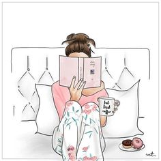 Love!! I always can't wait for a day nestled with a good book and donuts and coffee