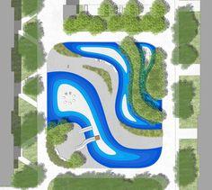 Urban Landscape, Landscape Design, Playground, Presentation, Sketch, Letters, How To Plan, Children Playground, Sketch Drawing