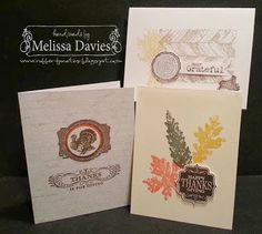 Thanksgiving card class by Melissa Davies @ rubberfunatics