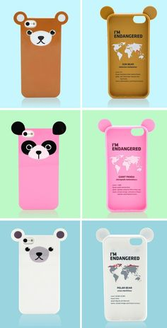 Endangered Animals iPhone5 Cases - 10% of the net profits help support endangered species.