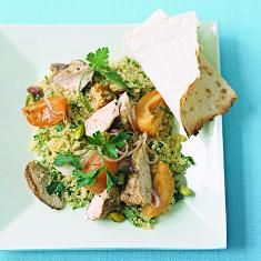 Couscous Salad With Chicken And Apricots (via www.foodily.com/r/urHsTkWBfy)