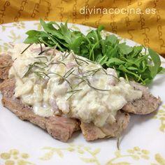 Lomo de cerdo a la carbonara » Divina CocinaRecetas fáciles, cocina andaluza y del mundo. » Divina Cocina