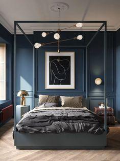 Modern Bedroom Furniture, Contemporary Bedroom, Furniture Design, Grey Furniture, Contemporary Classic, Bedroom Modern, Country Furniture, Furniture Vintage, Furniture Sets