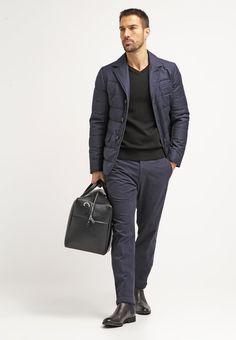 Tommy Hilfiger Tailored WILLIAM - Pantalón chino - dark blue - Zalando.es