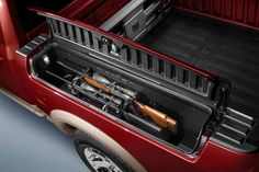 The next truck I get I want to have this feature....cause you never know when you'll need your rifle