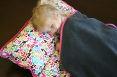 DIY Nap mat for the kids at daycare