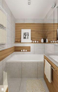 """Mieszkanie 64 m2 z """"loftowym"""" akcentem. - Łazienka, styl nowoczesny - zdjęcie od 4ma projekt"""