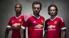 Manchester United reveal new Adidas home kit for 2015-2016 season
