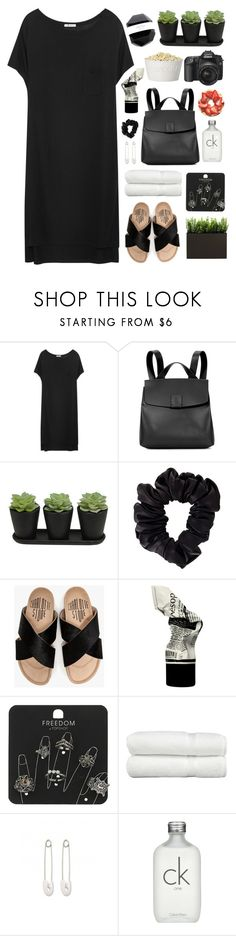 """Sin título #2603"" by liliblue ❤ liked on Polyvore featuring T By Alexander Wang, Nico Giani, American Apparel, Charlotte Stone, Aesop, Topshop, Linum Home Textiles, Kristin Cavallari and Calvin Klein"